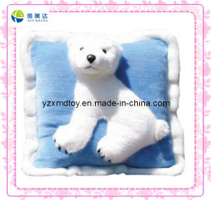 Beautiful Soft White Polar Bear Plush Aniaml Pillow pictures & photos