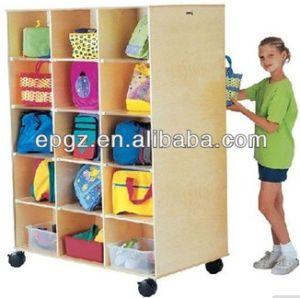 Play School Furniture, Children Furniture, Storage Unite for Nursery, Kid′s Storage for Play School pictures & photos