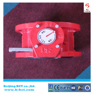 PN16 dn100 safety fire protection grooved butterfly valve BCT-GBFV-2 pictures & photos