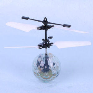 Hand Induced Crystal Disco Flying Ball Helicopter pictures & photos