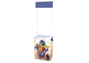 Display Stand Plastic Promotion Units (DW-P-T6) pictures & photos