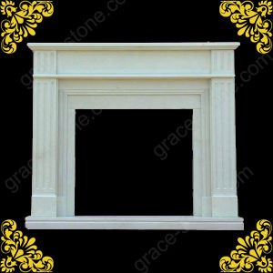 English Style Marble Carving Fireplace (GS-SF-009) pictures & photos