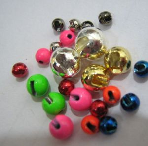 Dia1.5-Dia5.5mm Different Color Tungsten Slotted Beads for Fly Tying pictures & photos