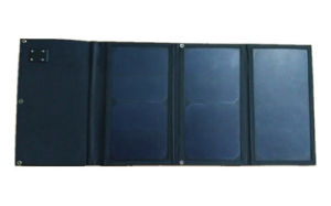 21W Flexible and Portable Solar Panel Charger (High efficient Mono cells)
