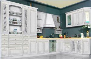 White Classic Kitchen Cabinet (RLK 004)