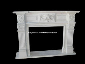 White Stone Fireplace, Marble Fireplace (FRP505) pictures & photos