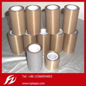 PTFE Tape Teflon Tape Fiberglass Adhesive Tape for Hot Sealing pictures & photos