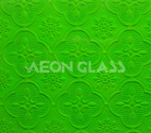 4mm, 5mm, 6mm Green Flora Figured / Pattern / Patterned Glass Green Flora Glass pictures & photos