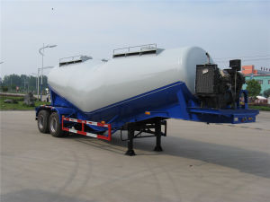 3 Axles 40cbm Bulk Cement Semi Trailer pictures & photos