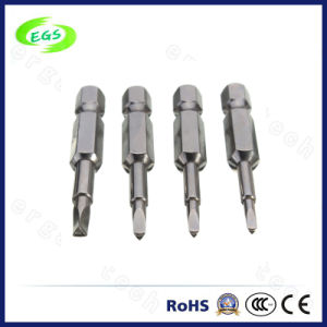 Hand Tool High Quality CRV Slotted Screwdriver Screw Driver Bit pictures & photos