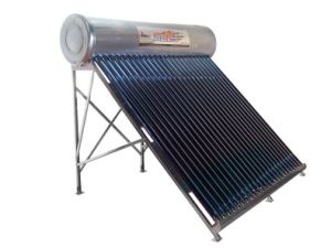 Non-Pressurized Solar Water Heater With Stainless Steel-2
