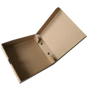 Top and Bottom Corrugated Cardboard Pizza Box for Packaging pictures & photos