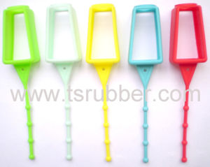 Hand Sanitizer Silicone Holder With Different Colors