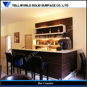 Artificial Stone Home Commercial Furniture Cheap Wine Bar Counter pictures & photos