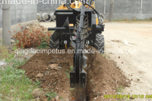 Mini Skid Steer Loader with Trencher Jl300 pictures & photos