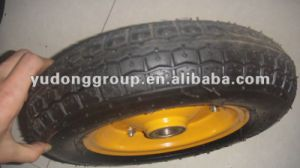Pneumatic Wheel 3.50-6, Rubber Wheel pictures & photos