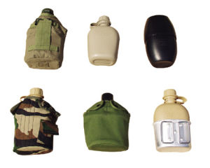 Outdoor Camping Travel Plastic Canteen pictures & photos