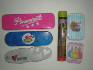 Pencil Tin Box