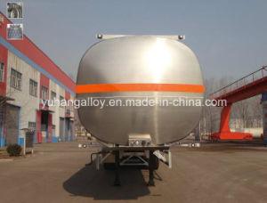 30~60cbm Carton Steel Fuel Trailer Tanker