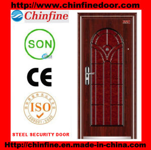 Morden Security Steel Door (CF-011) pictures & photos