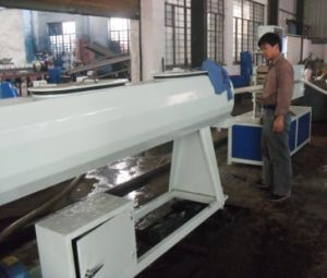 Pipe Extrusion Line/Machine for Manufacturing Plastic Pipes pictures & photos
