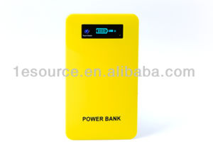 External Battery Pack 4000mAh Power Bank LCD Touch Screen (BUB-49)