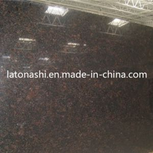 Tan Brown Granite Stone Vanity for Kitchen or Bathroom Countertop pictures & photos