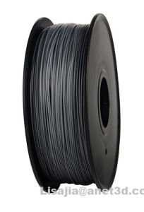 1.75mm Black PLA 3D Printer Filament - 1kg Spool (2.2 lbs) pictures & photos