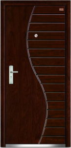 Steel Wooden Door (LT-116) pictures & photos