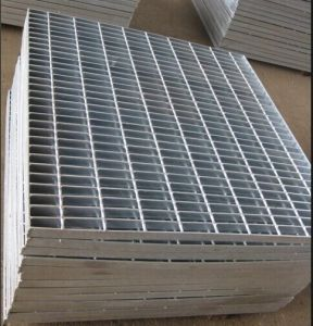 Heavy Duty Galvanized Steel Grating (Serrated or Plain) Manufactory pictures & photos