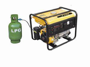 2.5kw LPG Gasoline Generator (WH3500-X/LPG) pictures & photos