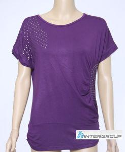 Lady′s T-Shirt (BG-L149) pictures & photos