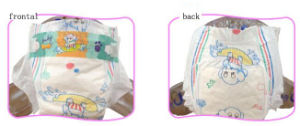 Cotton Back Film Baby Diaper pictures & photos