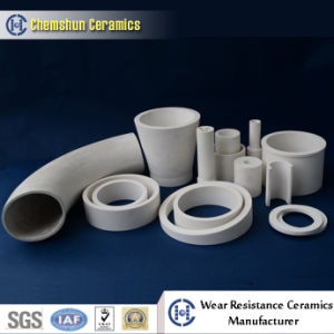 Wear Resistant Alumina Ceramic Pipe Liner for Material Conveying System pictures & photos