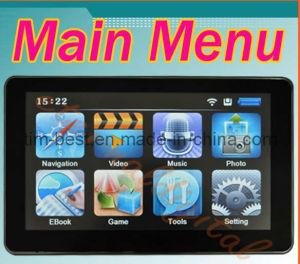 7 Inch GPS Navigator With ISDB-T, BT, Avin, FM, MTK CPU (FC-7INCH)