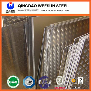 SS400 Q235 Tear Drop Checkered Steel Plate pictures & photos