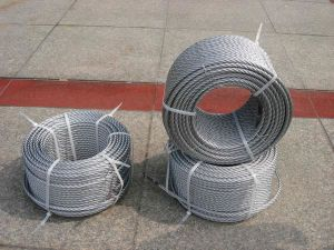 Steel Wire Rope for Fishing (6X24+7FC) pictures & photos