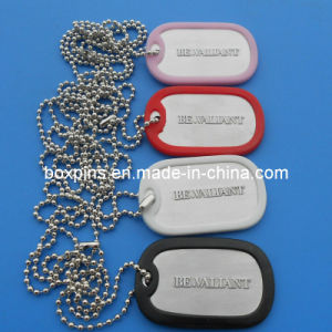 Color Silicone Cover Pet Dog Tag