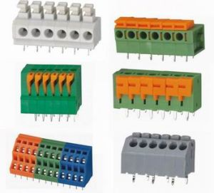PCB Connector Spring Terminal Block