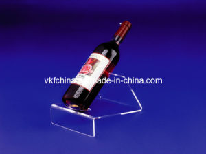High Quality Acrylic Bottle Holder for Wine Display