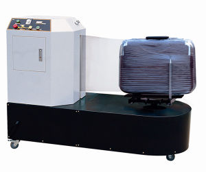TUV CE Efficient Airport Luggage Wrapping Machine pictures & photos