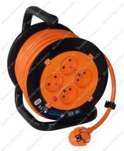 Metal Base Power Cord Reel (WD4-015) pictures & photos