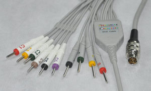 Petas One-Piece 10ld EKG/ECG Cable pictures & photos