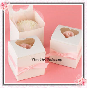 Party Cupcake Box With Window on Top (JCO-278)