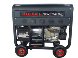 Portable Diesel Generator (Air-Cooled/Open Type) pictures & photos