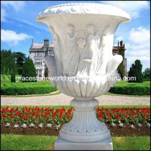 Carved Stone Garden Planter (GS-FL-005) pictures & photos