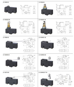 Limit Switch, Micro Switch, Switches, Pushbuttonswitch pictures & photos