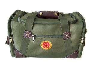 Nylon and Imitation Leather Range Bag (HA301NLPU-01)
