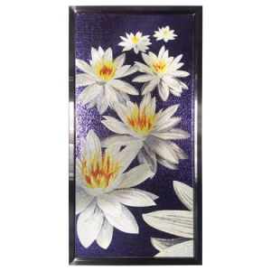 Feature Bar New Design Stained Glass Mosaic Flowers Patterns pictures & photos
