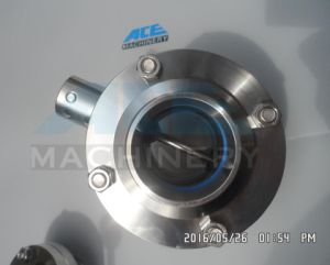 Welded Sanitary Stainless Steel Manual Butterfly Valve (ACE-DF-7W) pictures & photos